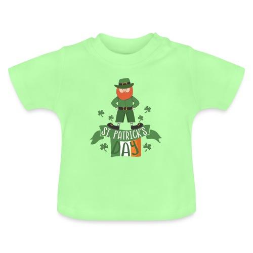 St. Patrick's day feiern mit Glücksbringer - Baby T-Shirt