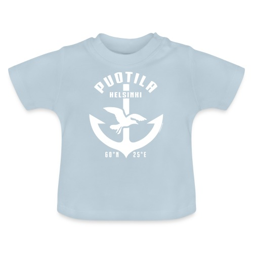Puotila Helsinki Ankkuri tekstiilit ja lahjat - Vauvan t-paita