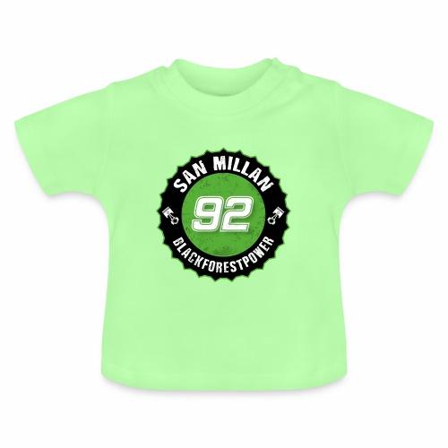 San Millan Blackforestpower 92 rund - schwarz - Baby T-Shirt