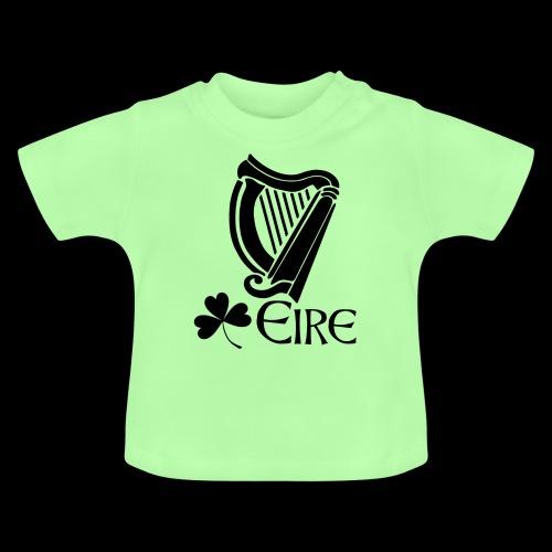 Irish Harp and Shamrock - Baby T-Shirt