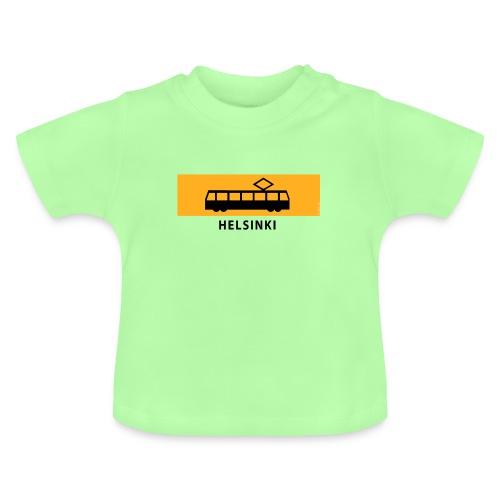 RATIKKA PYSÄKKI HELSINKI T-paidat ja lahjatuotteet - Vauvan t-paita