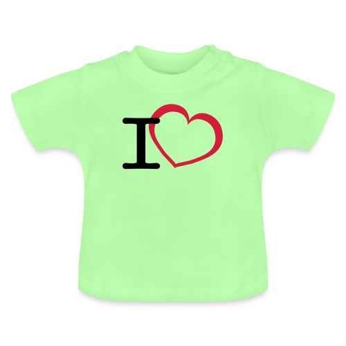 Cool i love open heart design - Baby T-shirt
