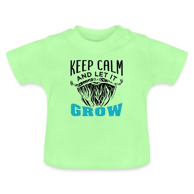Beard Keep Calm And Let It Grow