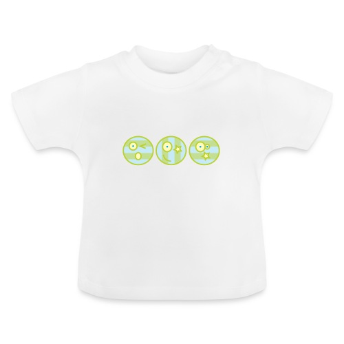 Smile multi4 - Baby T-shirt
