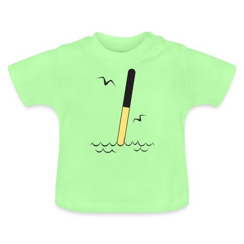 POHJOISVIITTA Merimerkit, tekstiilit ja lahjat - Vauvan t-paita