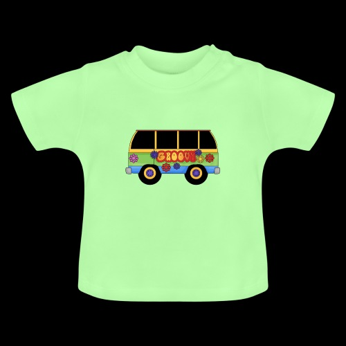 GROOVY BUS - Baby T-Shirt