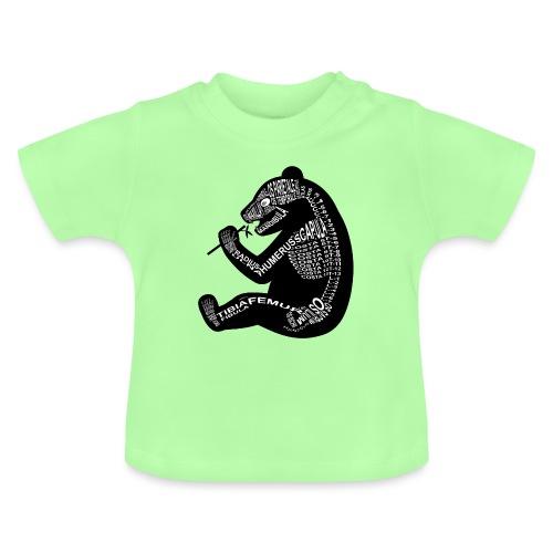 Panda skelet - Baby T-shirt
