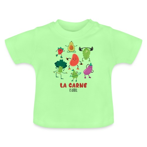 La carne es débil - Camiseta bebé