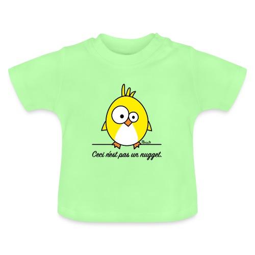 Poussin, Ceci n'est pas un Nugget - T-shirt Bébé