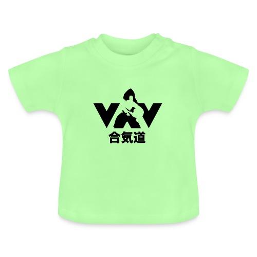 aikido zwart - Baby T-shirt