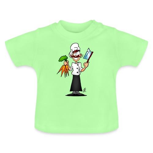 The vegetarian chef - Baby T-Shirt
