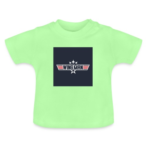 top gun wingman design - Camiseta bebé