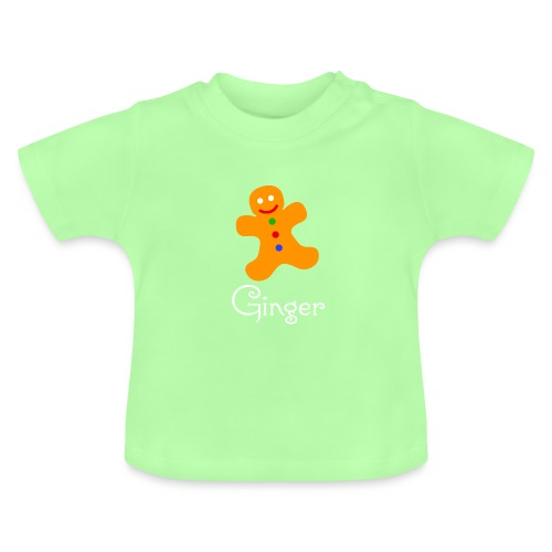 Gingerbread Man - Baby T-Shirt