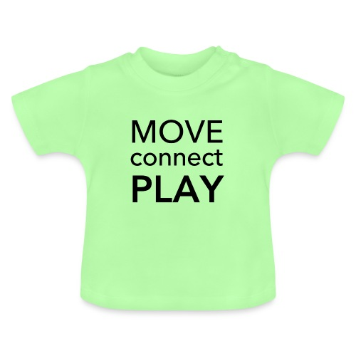 Move Connect Play - AcroYoga International - Baby T-Shirt