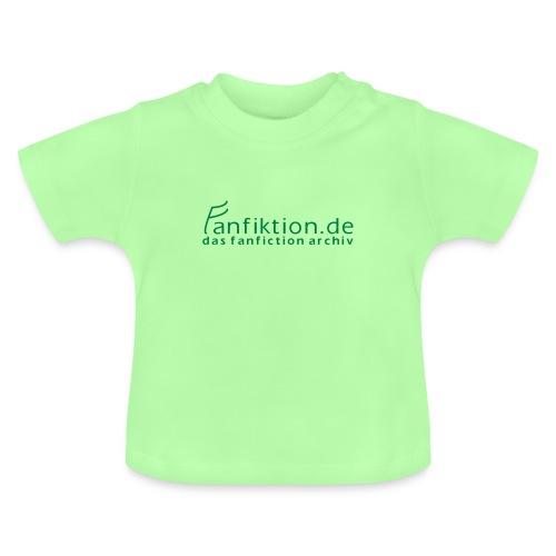 FanFiktion de Schriftzug - Baby T-Shirt