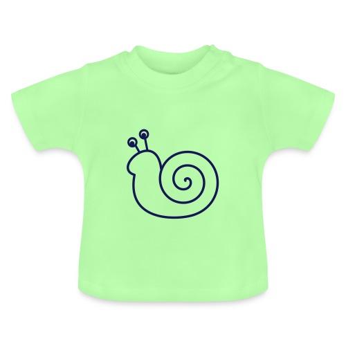 Lustige Schnecke - Baby T-Shirt