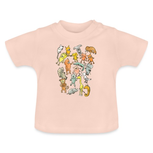 Farandole d'animaux - T-shirt Bébé