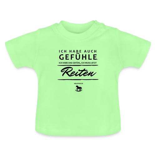 Gefühle - Reiten - Baby T-Shirt