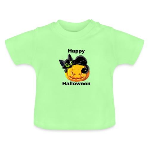 Happy Halloween cat - Baby T-Shirt