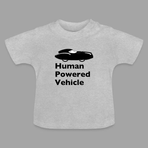 Quattrovelo Human Powered Vehicle black - Vauvan t-paita