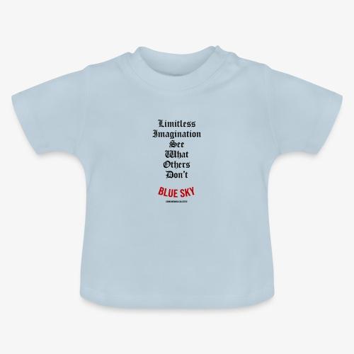 Limitless Imagination Zwart - Baby T-shirt