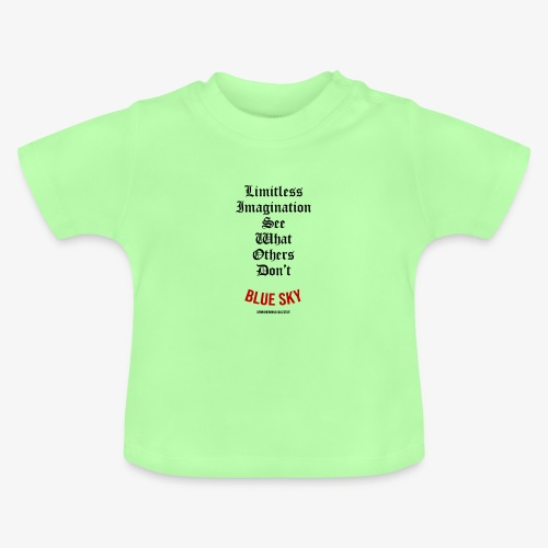 Limitless Imagination Zwart - Baby T-shirt