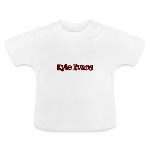 KYLE EVANS TEXT T-SHIRT - Baby T-Shirt