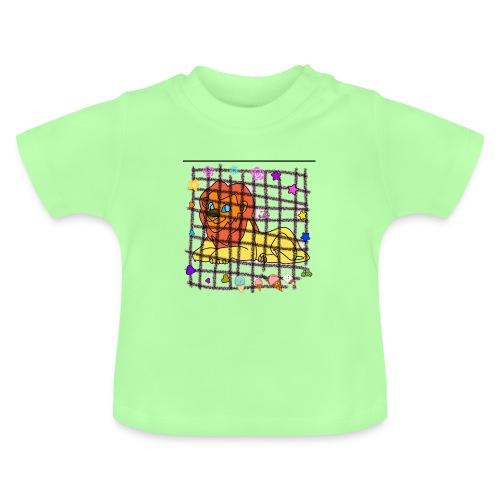 Lion dans son cage - T-shirt Bébé