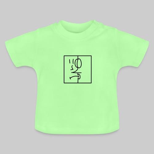 zwei Gesicht - Baby T-Shirt