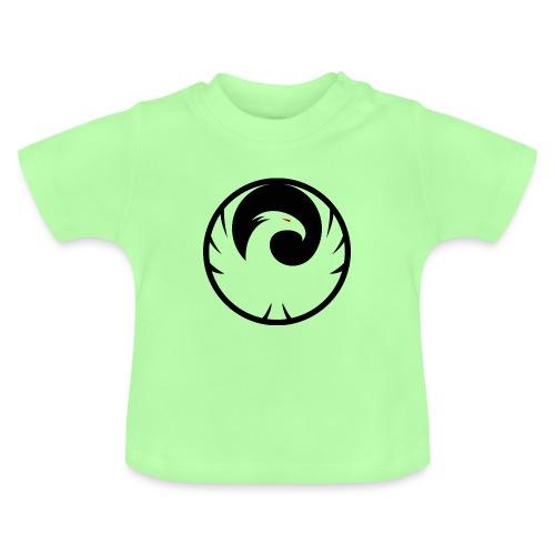 Phönix Logo Schattierung Phoenix schwarz black - Baby T-Shirt