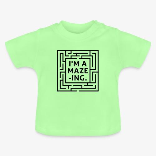 A maze -ING. Die Ingenieurs-Persönlichkeit. - Baby T-Shirt