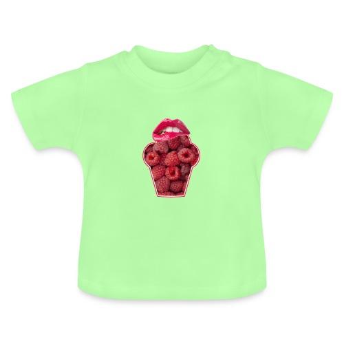 GESCHMACKSNERVEN pur bei Himbeeren - Baby T-Shirt