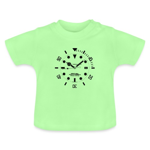 Submarine Luxury Watch Dial Details - Baby T-Shirt