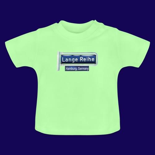 Lange Reihe: altes Straßenschild, Hamburg Germany - Baby T-Shirt
