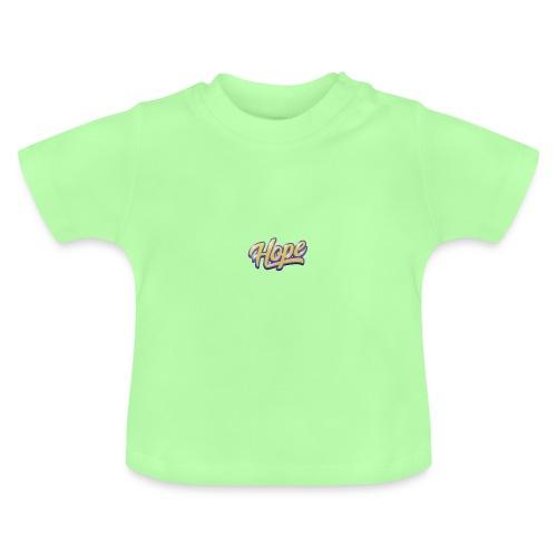 Hope lettering - Camiseta bebé