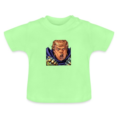 trump cartoon characters free to pull the material - T-shirt Bébé