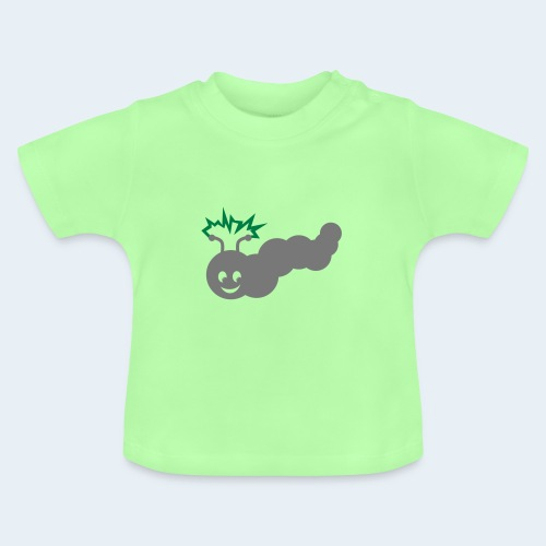 Stromer Raupe zweifarbig - Baby T-Shirt