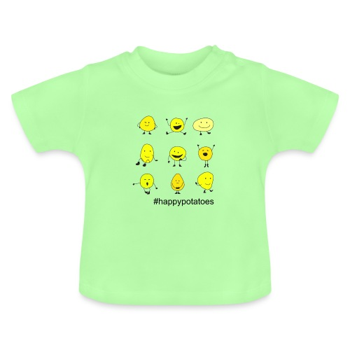 9 smilies - Baby T-Shirt