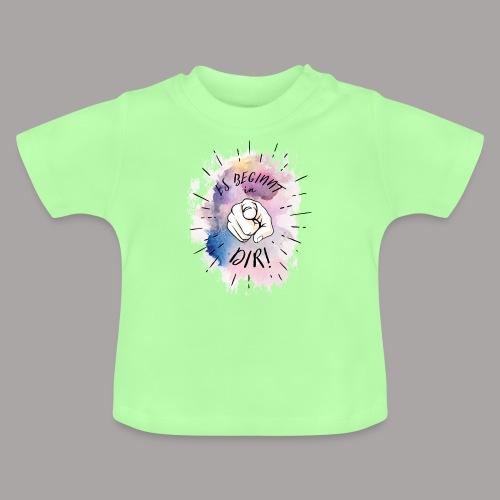 shirt bunt tshirt druck - Baby T-Shirt