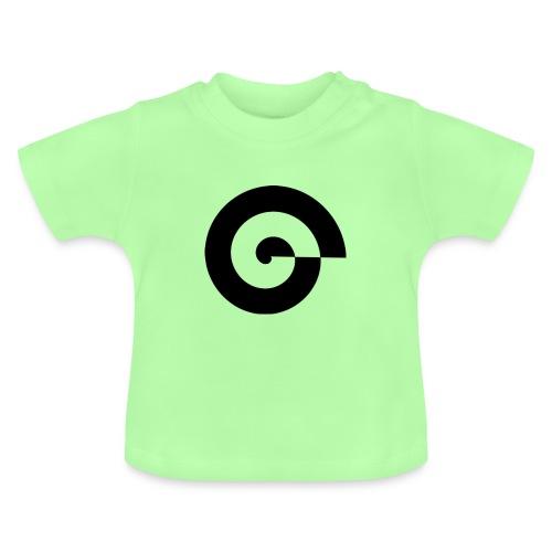 Rastergrafik schwarz - Baby T-Shirt
