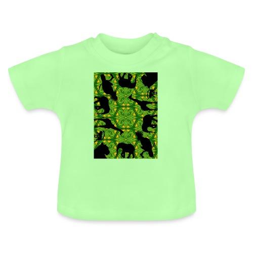 Im Dschungel - Retrolook - Baby T-Shirt