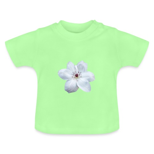 Jalokärhö, valkoinen - Vauvan t-paita