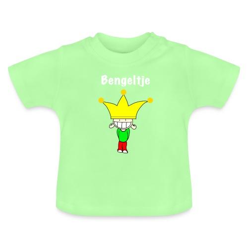 bengeltje - koning - tekst wit - Baby T-shirt