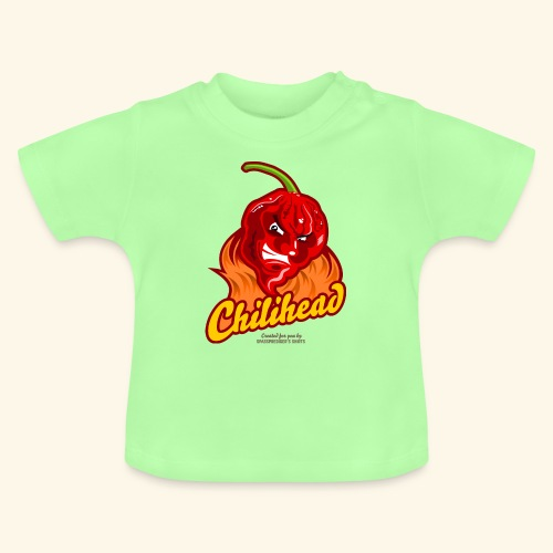 Chili Design Cartoon Chilihead | Grill T-Shirts - Baby T-Shirt