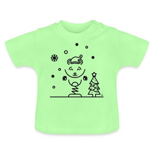 Noël bear 1 - T-shirt Bébé