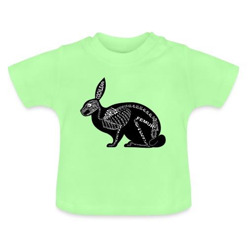 konijn skelet - Baby T-shirt