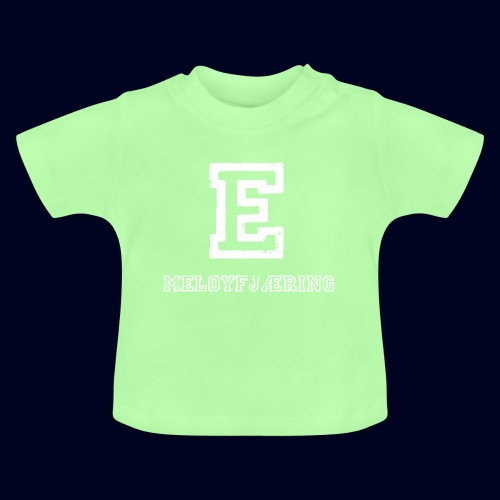 E - Meløyfjæring - Baby-T-skjorte