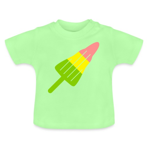 ZOOM ROCKET LOLLY choose your own flavours! - Baby T-Shirt