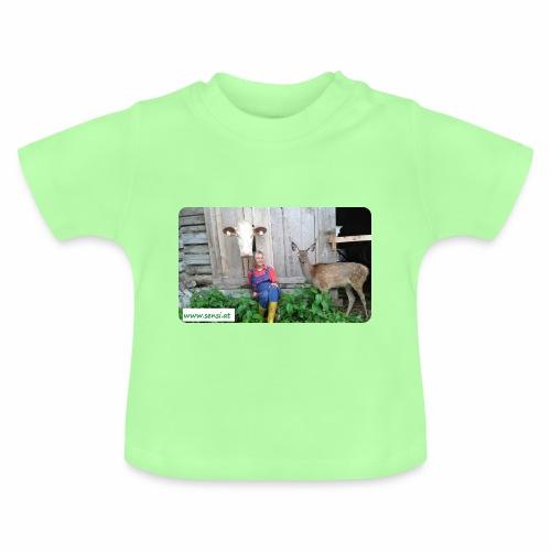 SenSi ♥ Hilfsprojekt für Kühe - Baby T-Shirt