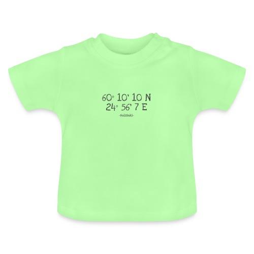 Helsinki Koordinaten - Baby T-Shirt